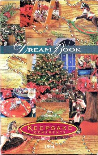 Hallmark 1994 Dream Book Keepsake Ornaments Catalog Collectible