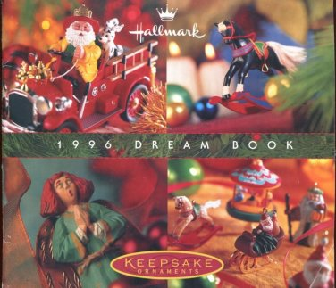 Hallmark 1996 Dream Book Keepsake Ornaments Catalog Collectible