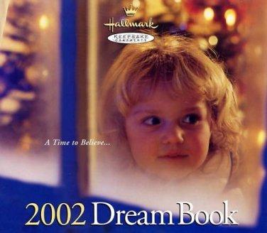 Hallmark 2002 Dream Book Keepsake Ornaments Catalog Collectible