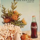 Coca-Cola PAUSE For LIVING Magazine Booklet Vintage Coke Summer 1969 Crafts
