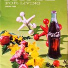 Coca-Cola PAUSE For LIVING Magazine Booklet Vintage Coke Spring 1968
