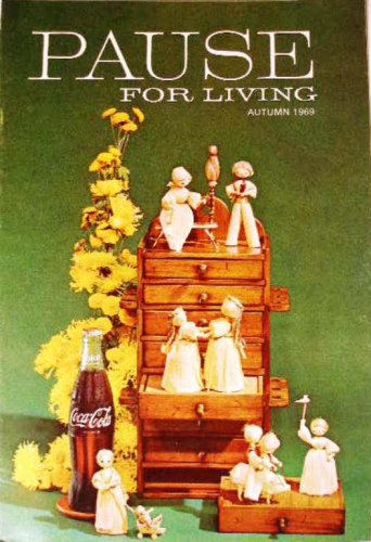 Coca-Cola PAUSE For LIVING Magazine Booklet Vintage Coke Fall 1969