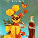 Coca-Cola PAUSE For LIVING Magazine Booklet Vintage Coke Summer 1964
