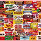 White Mountain Puzzles Candy Wrappers Jigsaw Puzzle 1000 Piece NEW Sealed