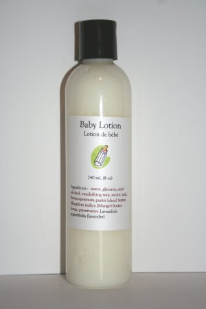 Baby Lotion 250 mL (8oz)