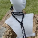Black and White Lace Chain