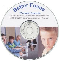 Better Focus Through Hypnosis CD