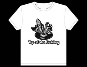 Top Of The Building - T-Shirt