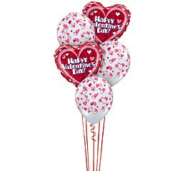 Valentine's Balloon Bouquet