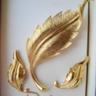 vintage Jewelry Pakula MIB earring and pin parure set