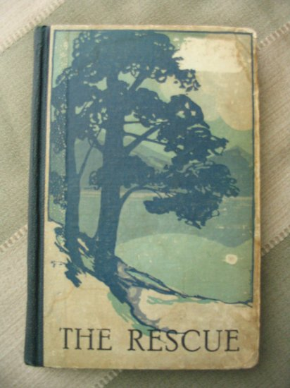 1922 antique book The Rescue: A Pleasing Story For Children