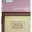 Heart in hand - pocket sampler: cross stitch pattern