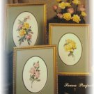 Antique Roses cross stitch Leaflet pattern Leisure Arts