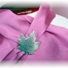 Leaf Beau Sterling Brooch