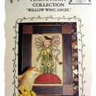 Willow wing Angel - garden cross stitch leaflet