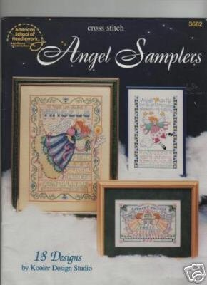 Angel Samplers kooler design studio cross stitch pattern book
