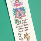 Bless Our Home Bookmark w/ Charm cross stitch kit