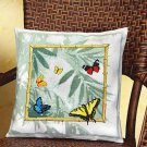 Bamboo Butterflies counted cross stitch kit Janlynn