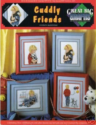 cuddly friends great big grapshs cross stitch pattern