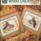 Marshland wood ducks true colors cross stitch pattern