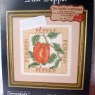 cross stitch leaflet Red Pepper by Serendipity