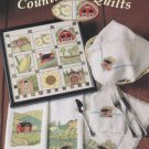 Countryside Quilts 6 Cross Stitch Patterns Barn Fruit