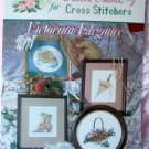 Ribbon Embroidery for Cross Stitch Victorian Elegance