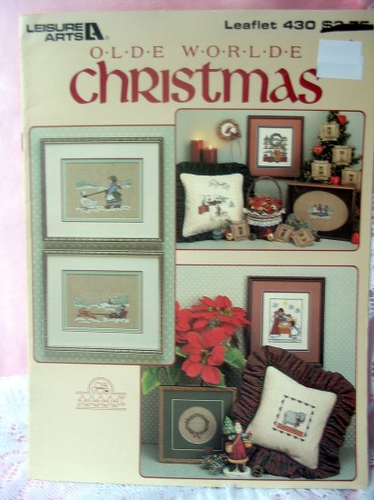 Olde Worlde Christmas from Leisure Arts cross stitch pattern