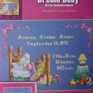 Dream Baby birth Annoucement cross stitch leaflet NEW
