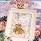 Share My Bear? Cross Stitch Pattern