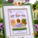 Children Growing Up Cross Stitch Pattern