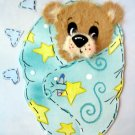Tear Torn Bear baby boy scrapbook