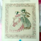 Gloria Victorian Women leaflet 1982 rare cross stitch
