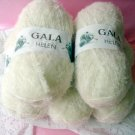 Gala Helen White Yarn by Premier 5 skeins short eyelash