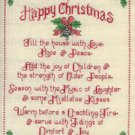 Tidings & Joy Charms Cross Stitch Sue Hillis Designs