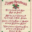 Tidings & Joy Charms Cross Stitch Sue Hillis Designs