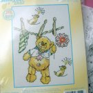 Wash Line Fun - Cross Stitch Kit Bear
