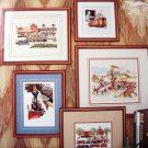 Trains Two Cross Stitch Rare Patterns
