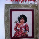 The Surprise Cross Stitch Pattern Native American by Sandy Stein