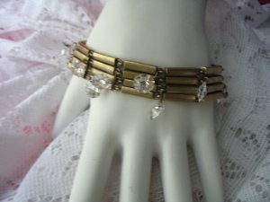 Kenneth Cole Bracelet with Rhinestones