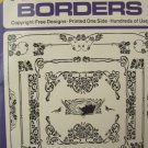 Ready-to-Use Art Nouveau Borders by Theodore Menten Dover