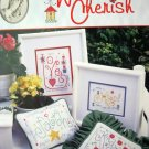 Words To Cherish Cross Stitch leaflet