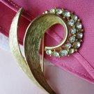 Emmons Vintage jewelry Paved Rhinestone Pin