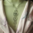 Snow Lace Vintage Necklace Signed by Sarah Coventry