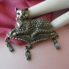 Avon Regal Cat Pin 1992 Signed