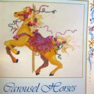 Carousel Horses - Watercolors in Counted Cross Stitch