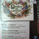 Dimensions Counted Cross Stitch Kit - Garden Of Weedin'