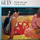 Postcard Books: Gauguin [Paperback]