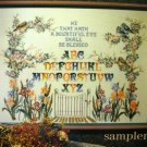 Bountiful Blessing Cross Stitch Sampler Stoney Creek
