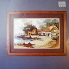 Fishing Village Cross Stitch  Boyd Designs